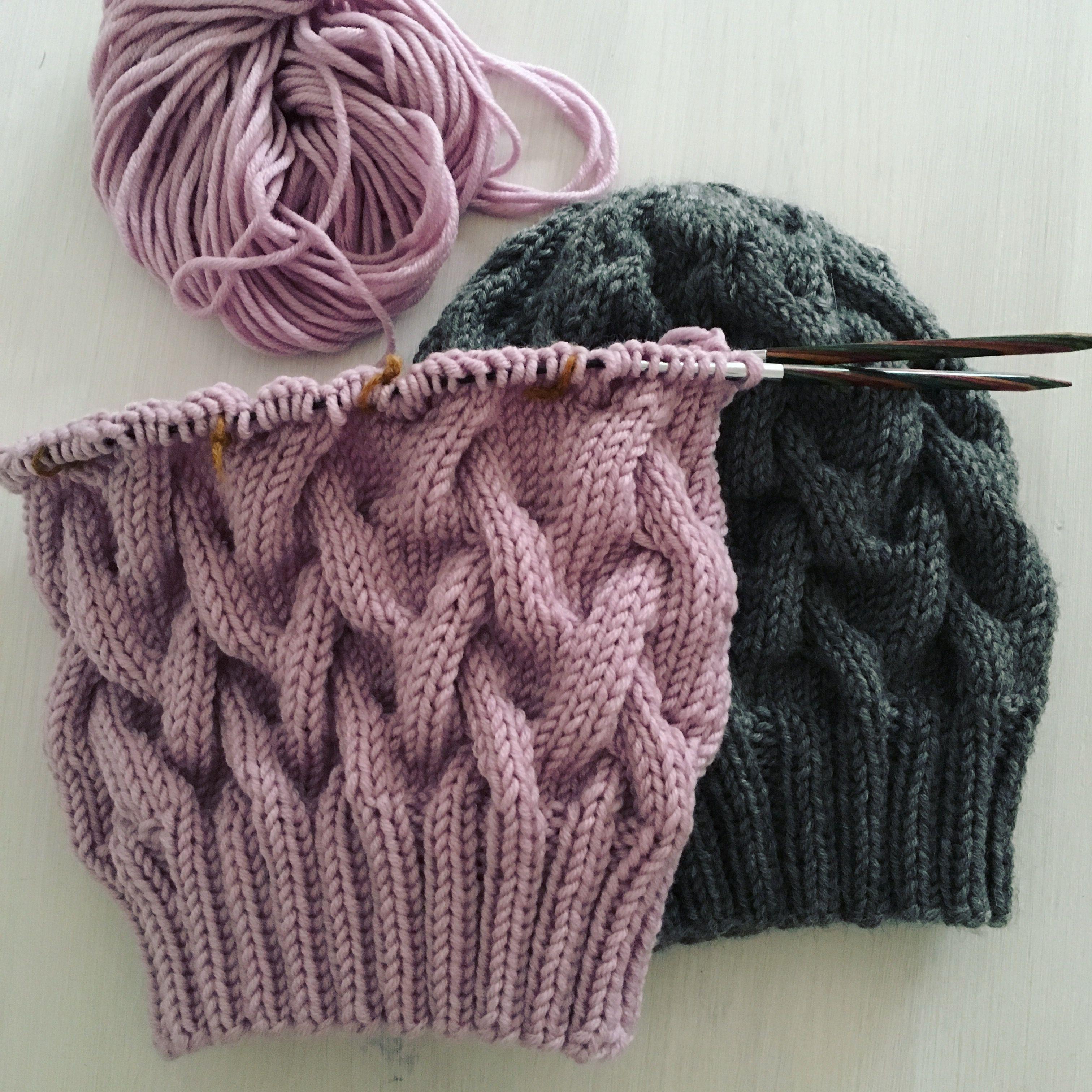 Mütze/Hat/Beanie AURORA pattern by Angelina Zimmer #knitting