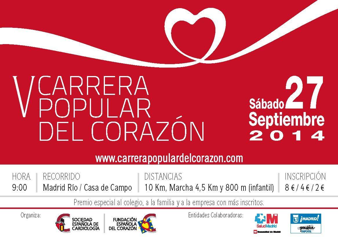 V Carrera Popular del Corazón.