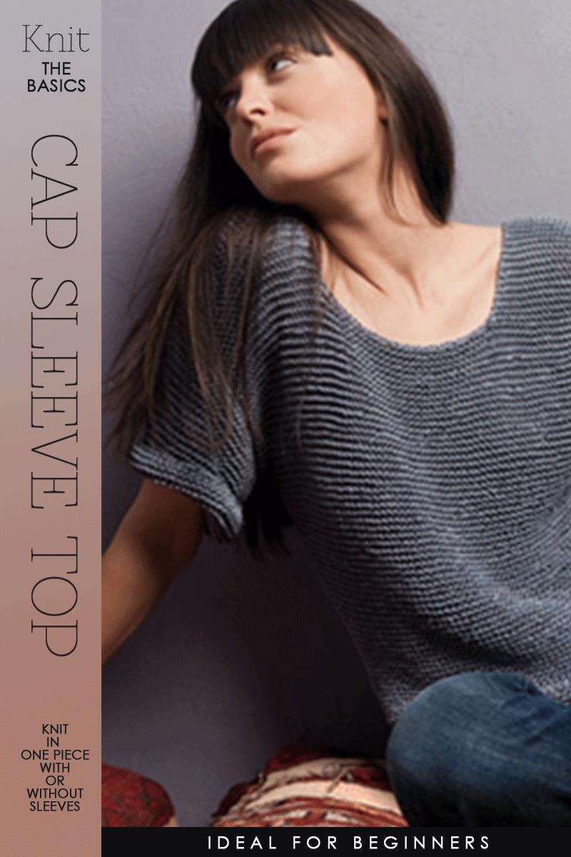 Basic cap sleeve top   free pattern, ideal for beginner, tips for ...