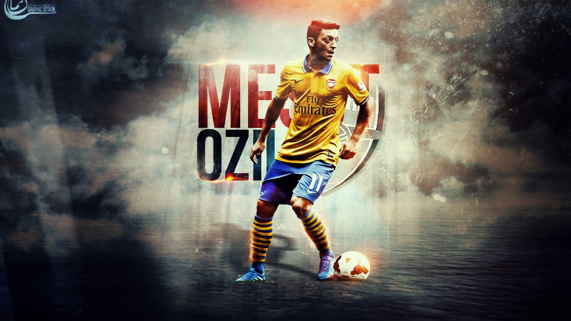Mesut Ozil Arsenal Wallpaper Arsenal wallpapers, Mesut