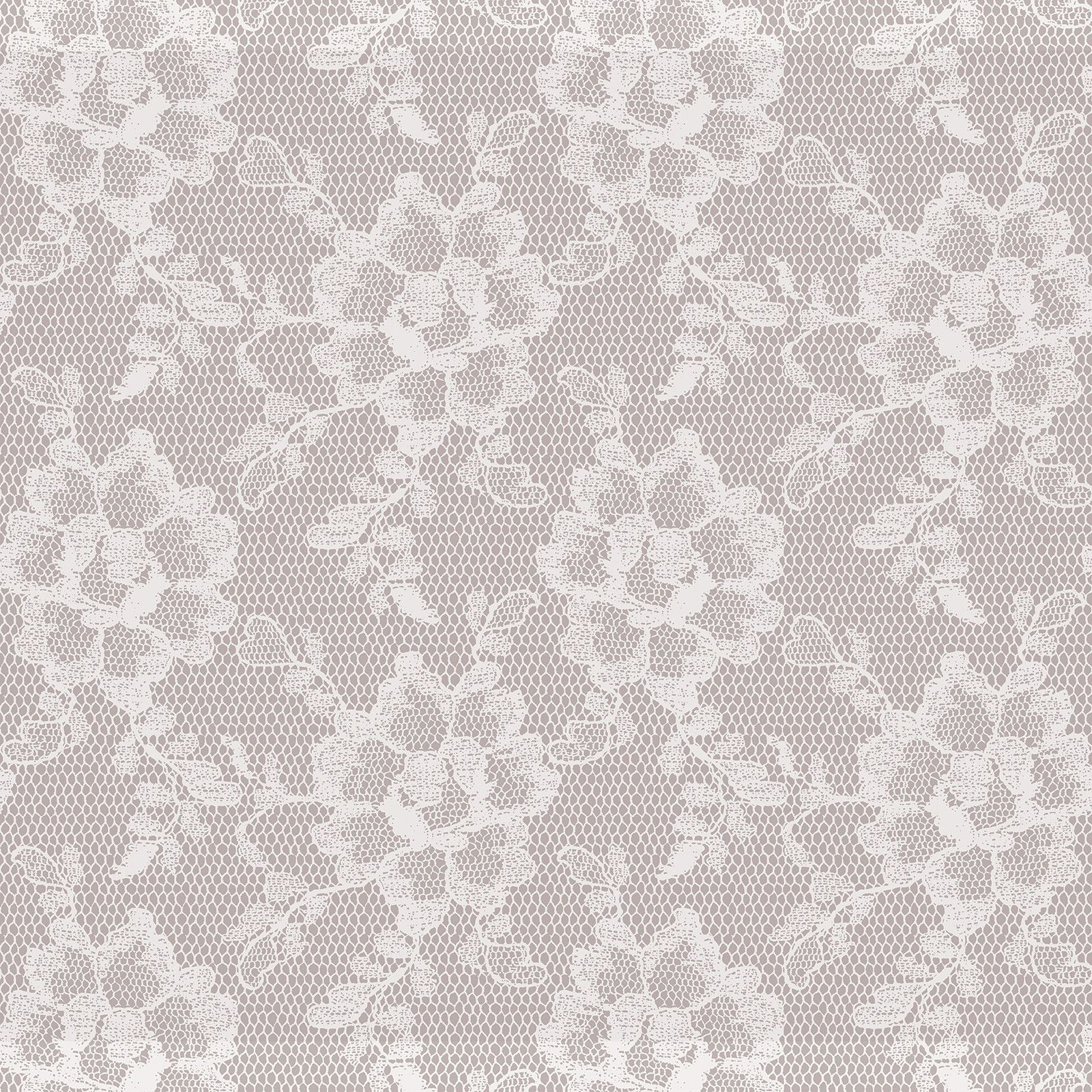 Sample Lace Textured Self Adhesive Wallpaper In White Chocolate Design By Tempaper Lace Wallpaper Textured Wallpaper Modern Wallpaper Designs