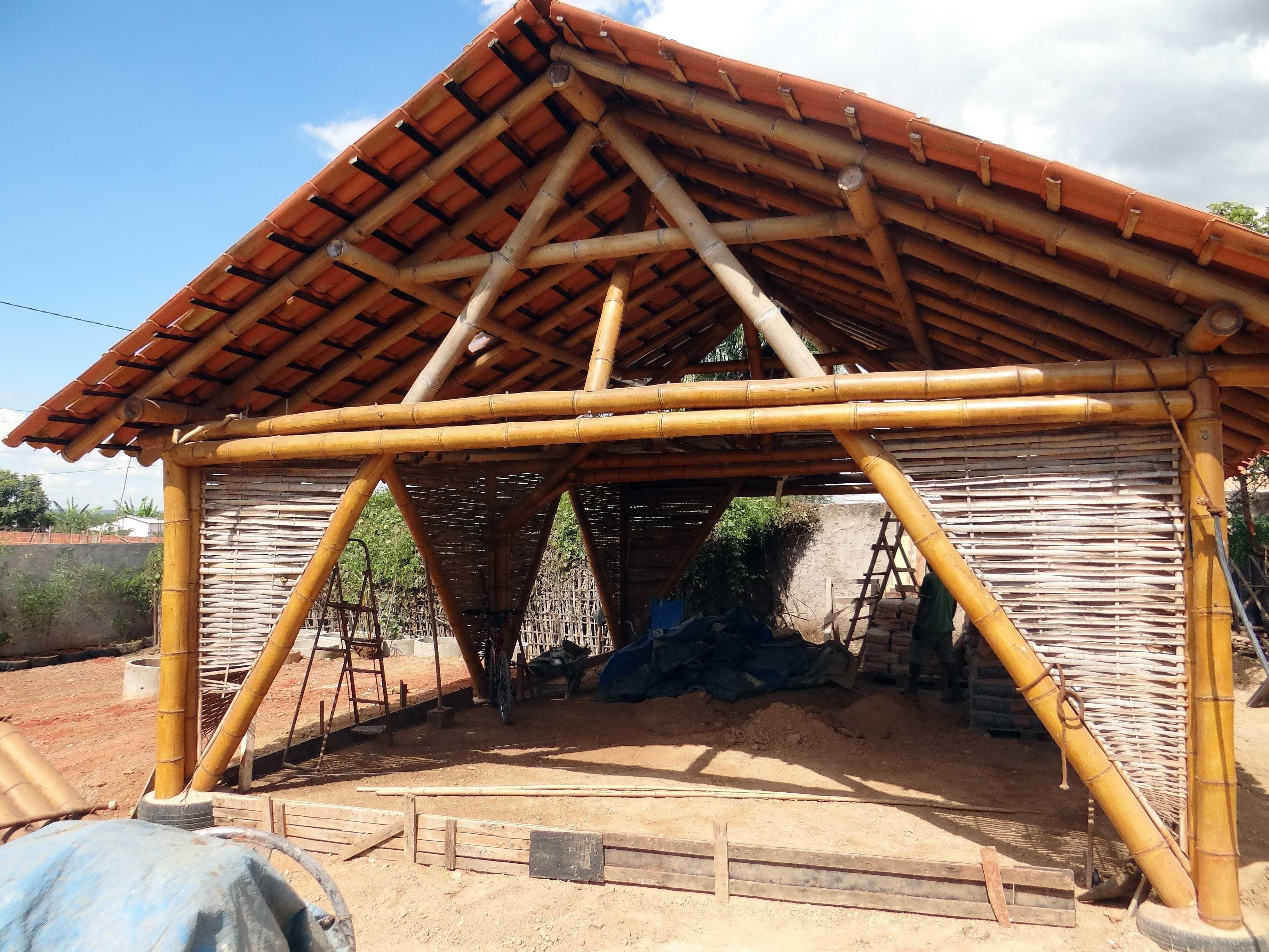 bioconstrução estrutura de bambu - Pesquisa Google | Bamboo ...
