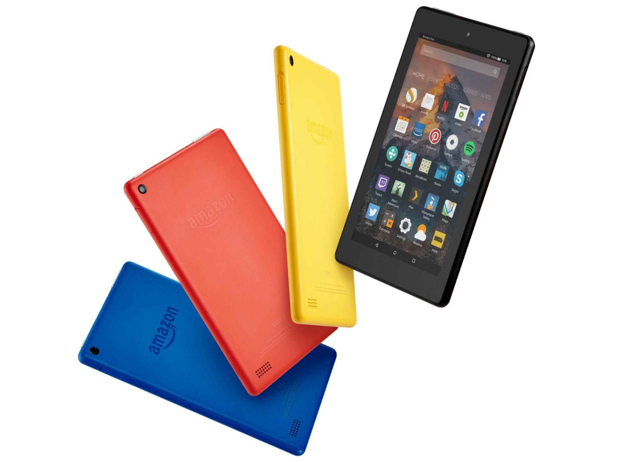 All New Fire 7 Kids Edition Tablet Variety Pack 16gb Blue Pink Kid Proof Case Fire Tablet 16gb Firetablet16gb Video Games For Kids Pink Kids Kids Meals