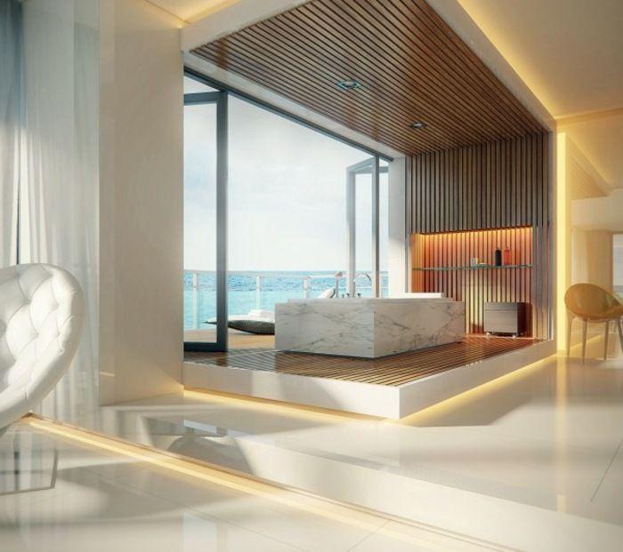 Badezimmer Design Mit Luxus Note | Badezimmer | Pinterest | Note ... Badezimmer Luxus Design
