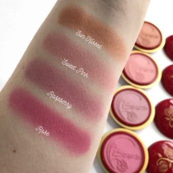 Brand Focus   Makeup/Makeup Ideas   Makeup swatches, Rouge