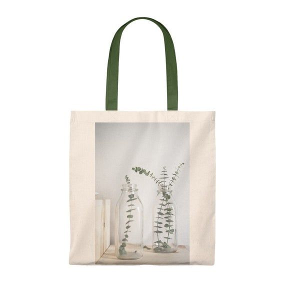 Photo of Eukalyptuskranz Einkaufstasche