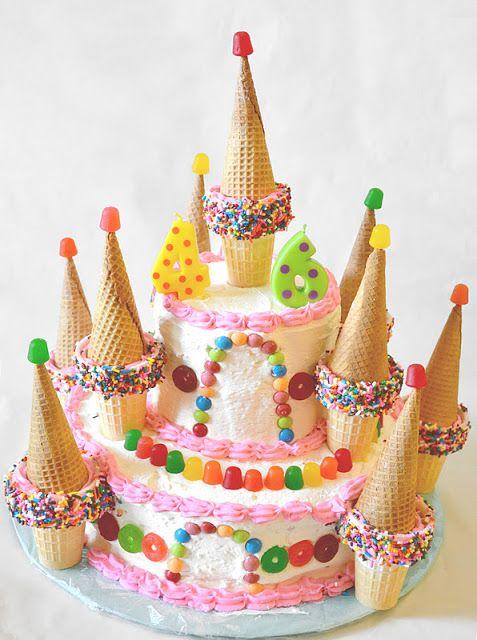 candy castle cake my little family pinterest kuchen geburtstagskuchen und kuchen. Black Bedroom Furniture Sets. Home Design Ideas