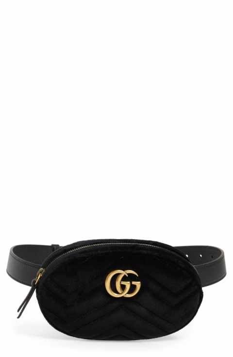 2af984e69c76 Gucci Small GG Marmont 2.0 Velvet Belt Bag - $13.10 | Bags | Bags ...