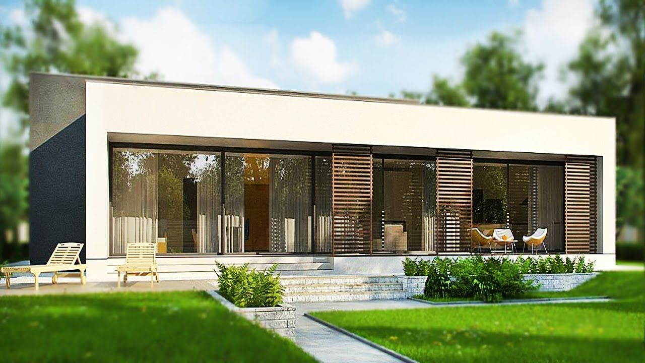 179m² A Modern Spacious One-Story House With 4 Bedrooms, 2 ...
