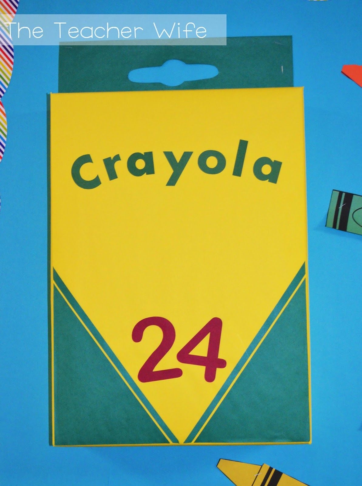 Blog Hoppin': Back-2-School Bulletin Board Idea!