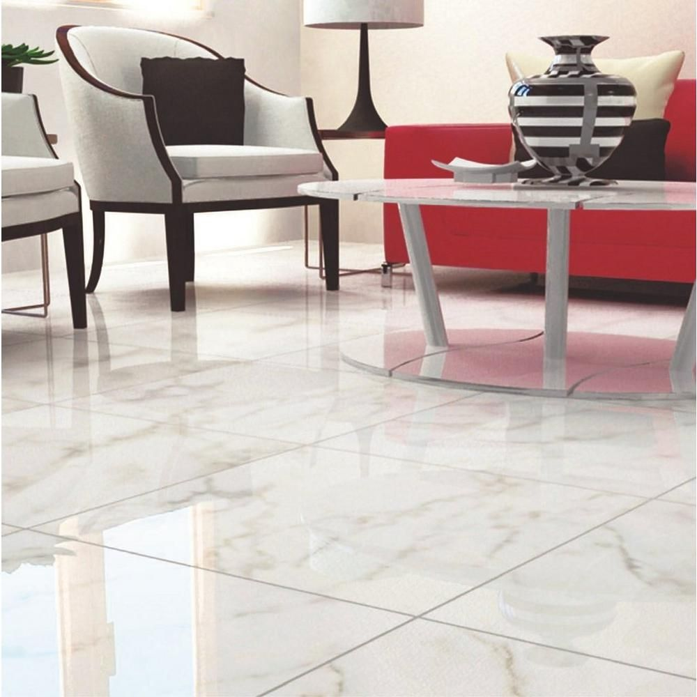 Carrara White High Gloss Ceramic Tile Pinterest Carrara High