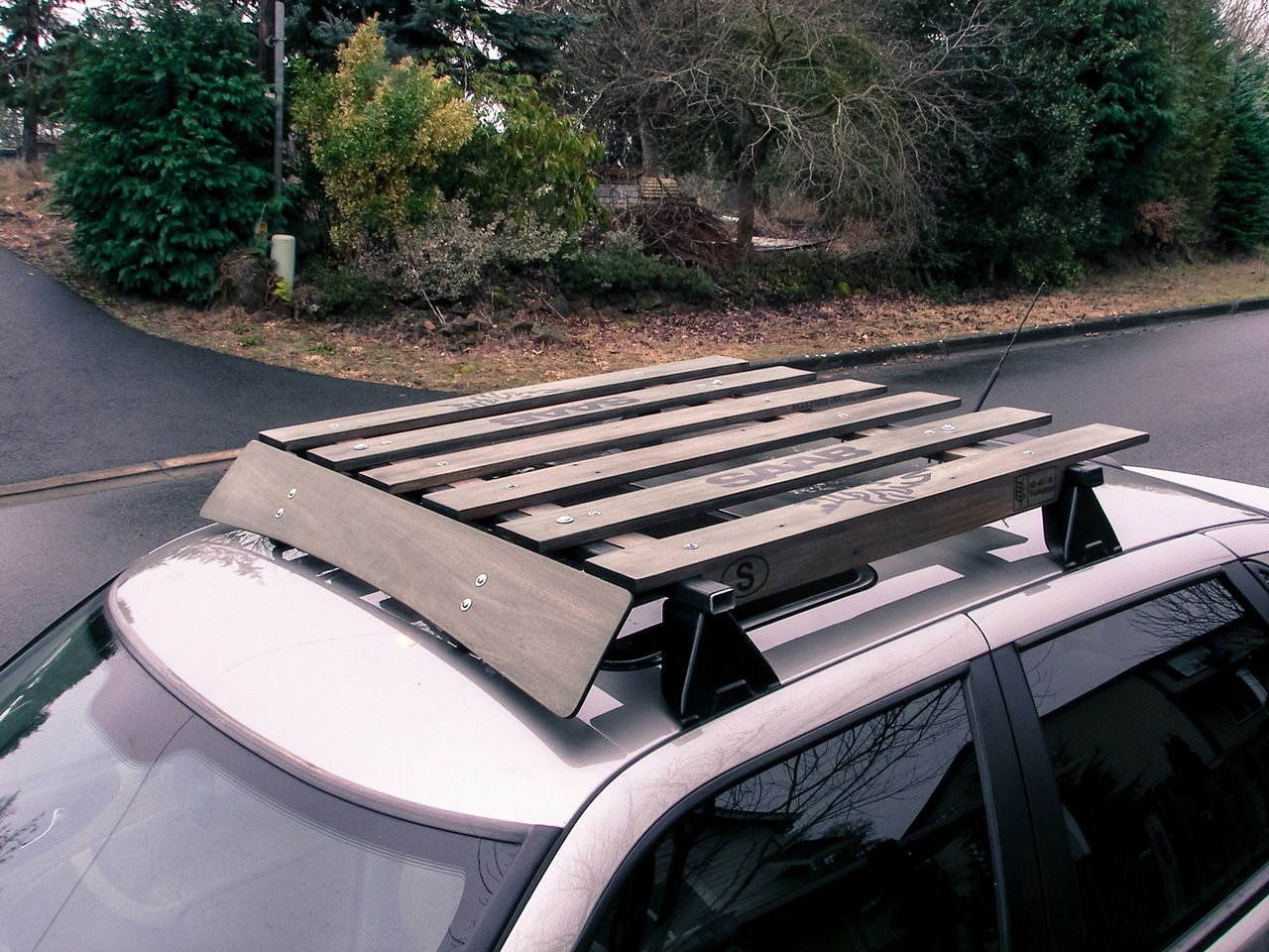 Www Saabcentral Com Forums Showthread Php T 568562 Car Roof Racks Roof Rack Wood Roof