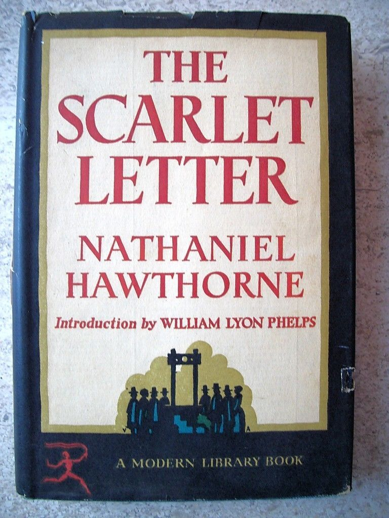 The scarlet letter a modern library book no date of printing the scarlet letter a modern library book no date of printing mentioned but madrichimfo Images