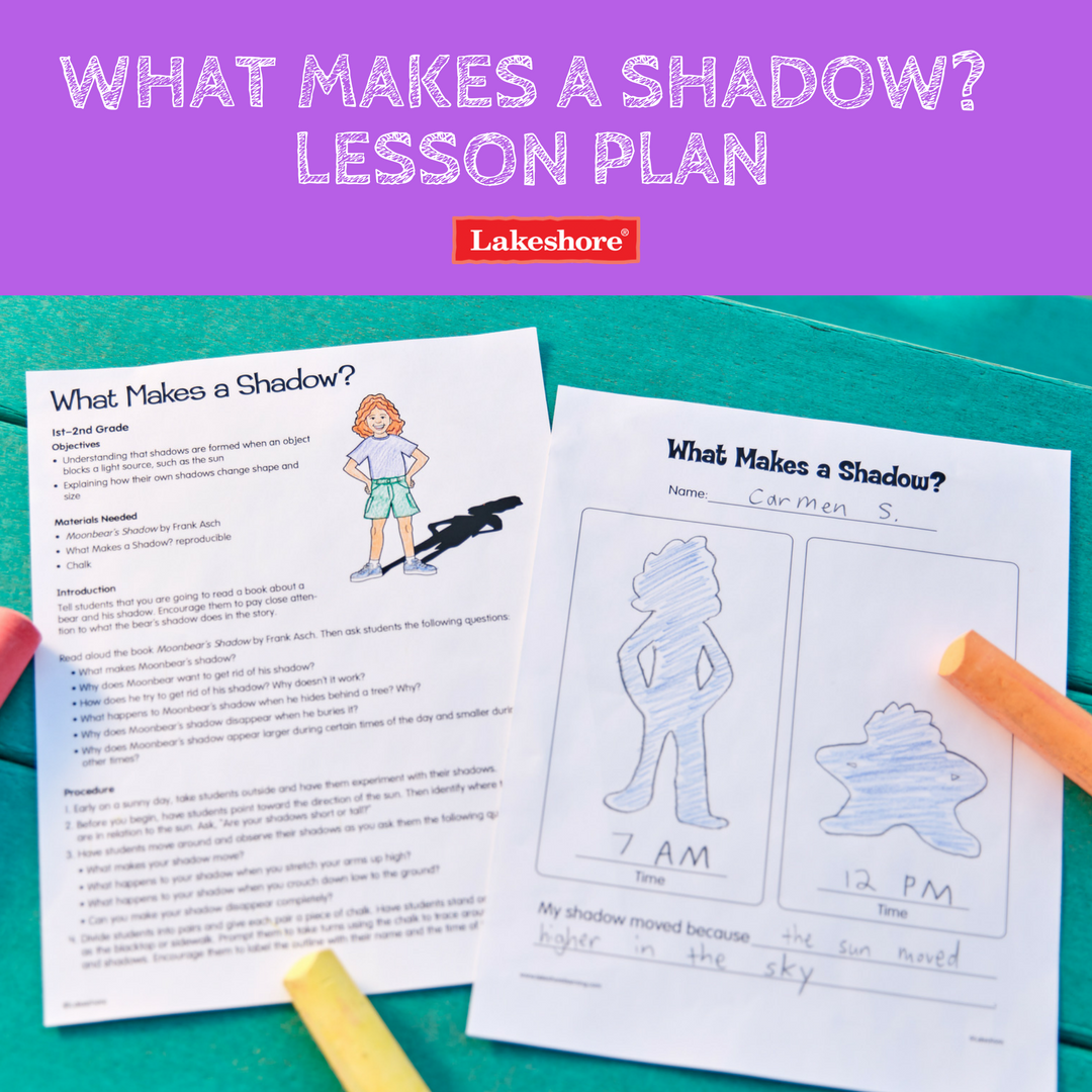 Help Students Understand That Shadows Are Formed When An