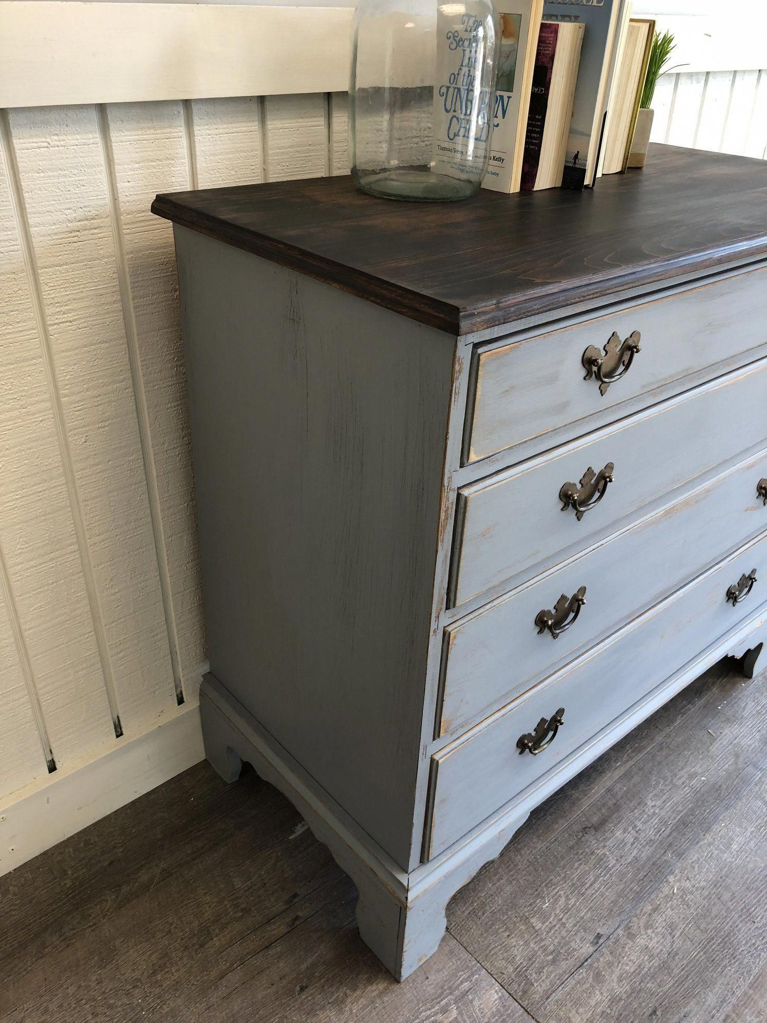 Shabbychicdressers Shabby Chic Dresser Shabby Chic Kitchen Dresser Grey Stained Wood