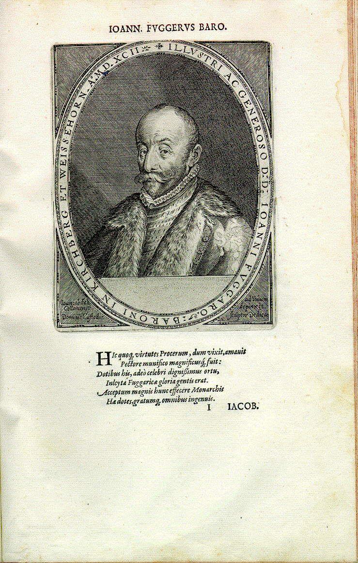 Hans Fugger, Herr zu Kirchheim, Glött etc. (1531-1598)