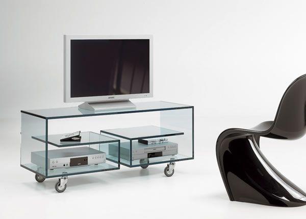 Tonelli Mobili ~ Rack para tv em vidro por tonelli design linha flò 1 tv unit