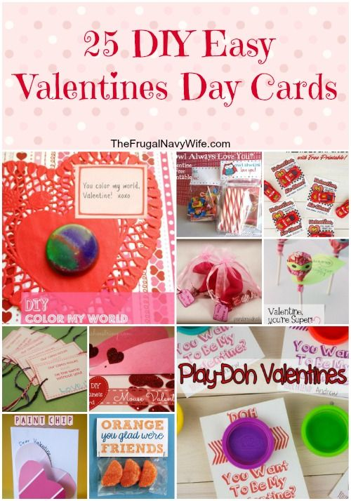 25 diy easy valentines day cards - save money and make your own, Ideas