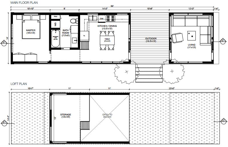 Minihome Cali Series Solo Floor Plan Modernprefabs Modernprefabs Minihome Cali Series Solo Floor Plan Modernprefabs Modernprefabs Solo Cali