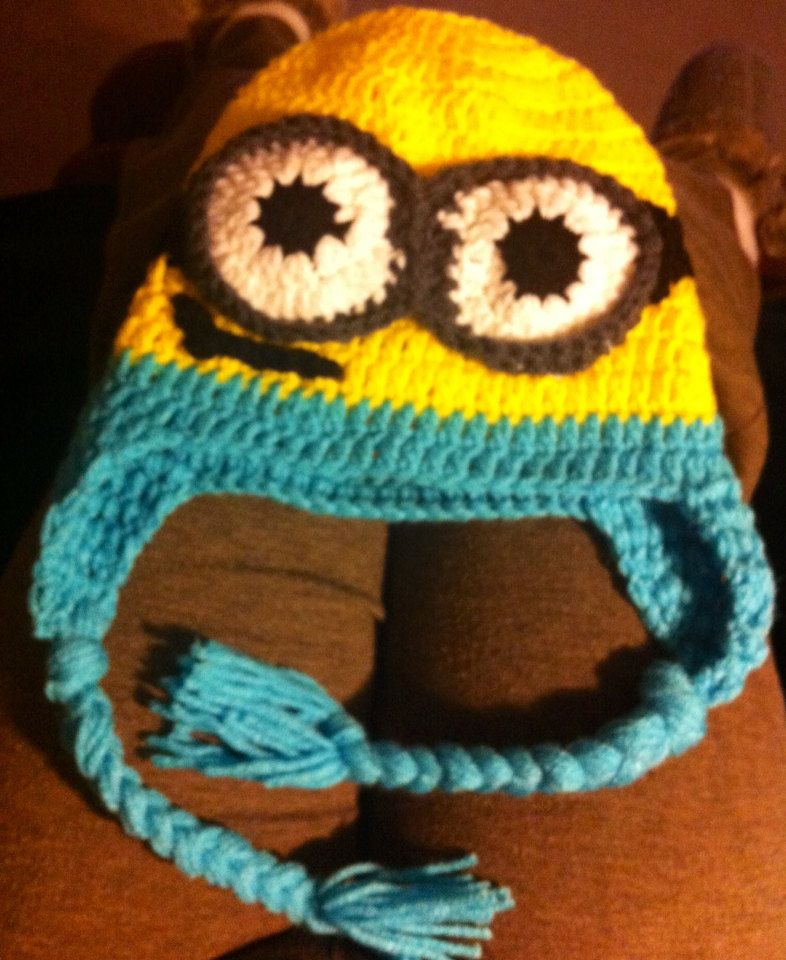 Handmade Despicable Me Minion Boy or Girl by CJSurvivalBands f608ed643d3