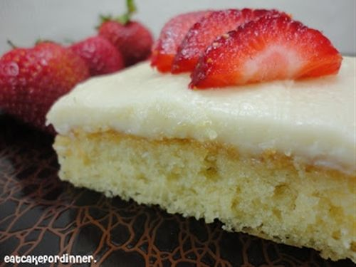 Half Sheet Pound Cake Recipe