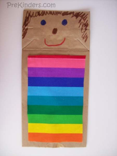 Joseph And The Coat Of Many Colors Puppet Color Crafts Bible Joseph Coat Of Many Colors Activity