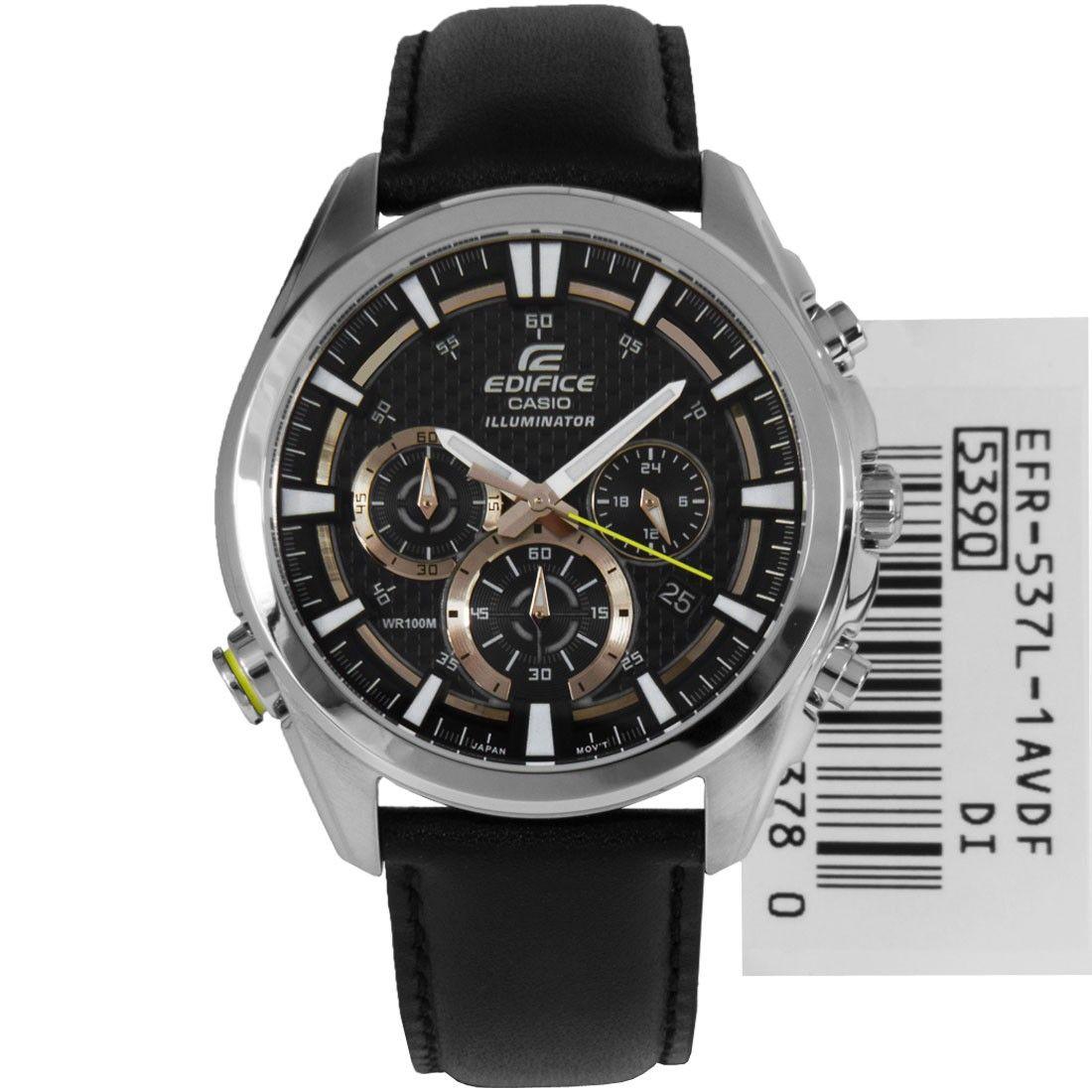 Casio Edifice Chronograph Mens Sports Watch EFR537L1AV