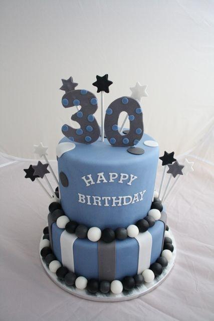 30th Birthday Cake Ideas For Him Google Search Kelvins