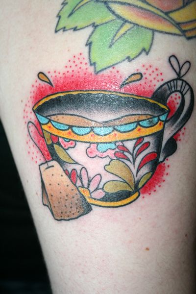tattoo Mexican-style cup of tea