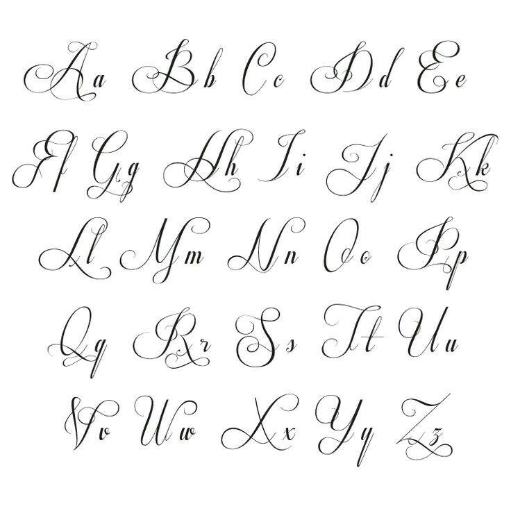 Pin Von Millaray Arenas Auf Majturiba Kursivschrift Kursiv Schrift Alphabet Schriftarten
