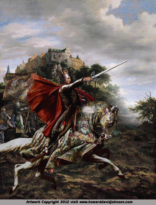 El Cid Howard David Johnson Historical Illustration Medieval