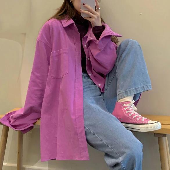Comfy Cute Oversized Shirt