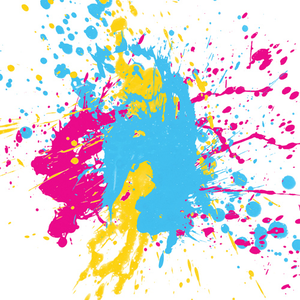 Play Ideas Early Childhood Activities Painting Neon Painting Paint Splatter