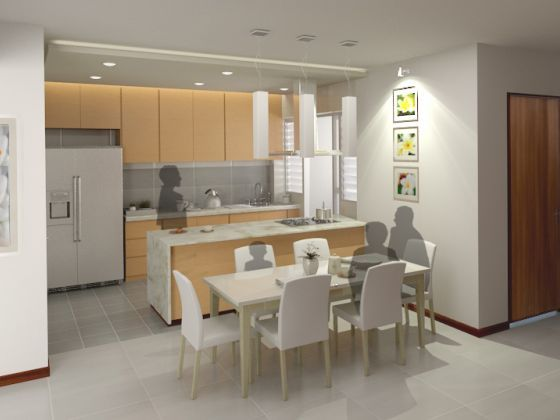 Open Kitchen Concept Popular Among Bto Home Buyers Hdb Kitchen Concepts Open Concept Kitchen Home Decor Kitchen