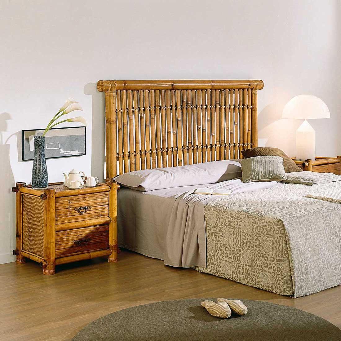 Contour De Balcon En Bambou noka, tête de lit, canne de bambou en 2020 | lit bambou