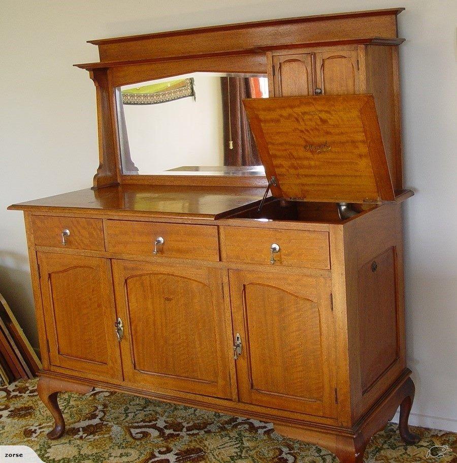 RARE PIECE Gramophone in sideboard Sideboard