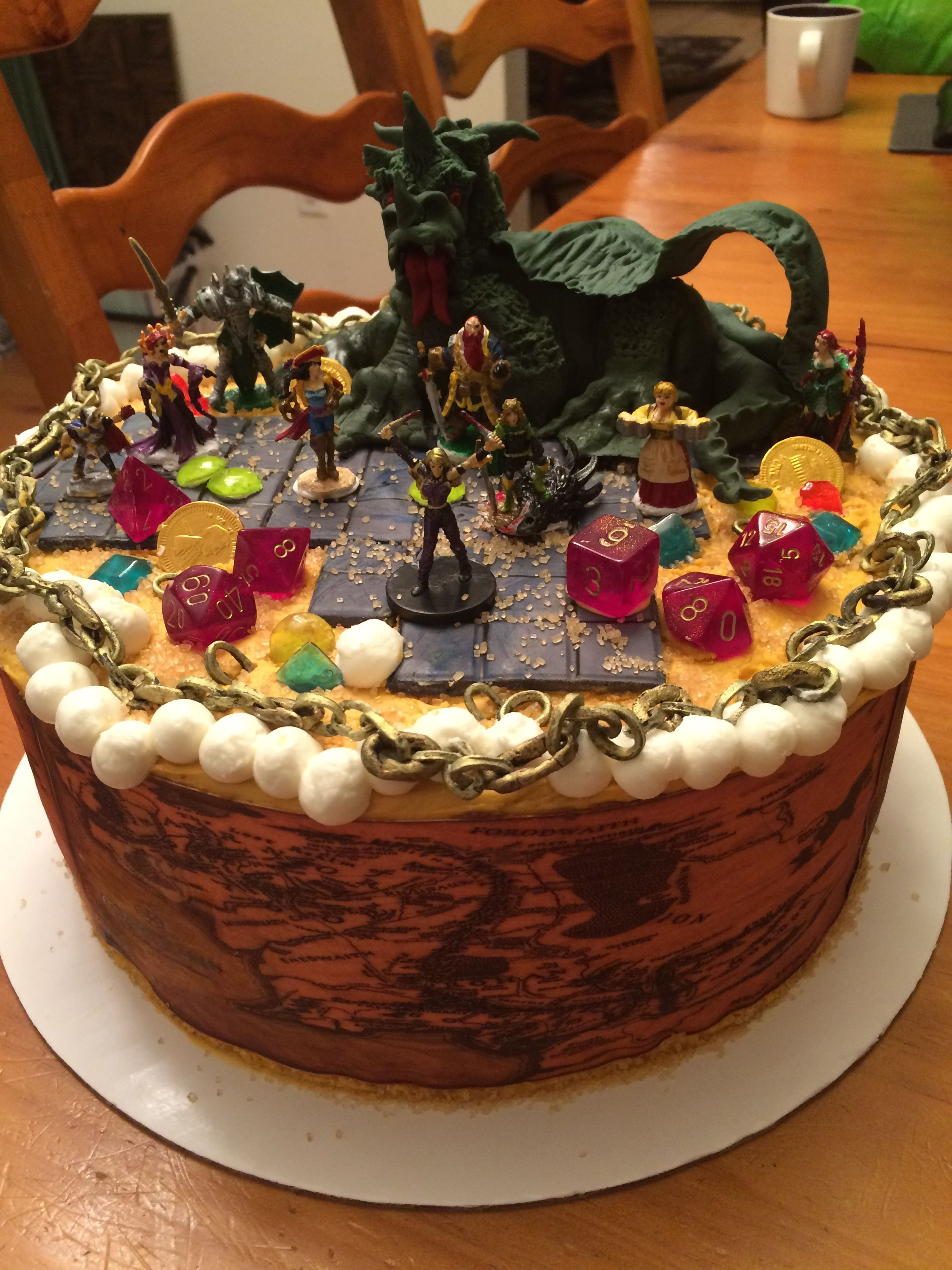 Dungeons And Dragons Cake Mama S Cake Classics With Images