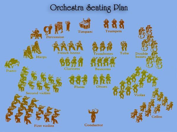 orchestra seating chart new york city the arts pinterest