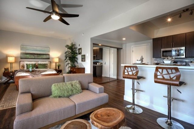 Studio Apartment Concept 500-square-foot rentals: good things in small packages | open