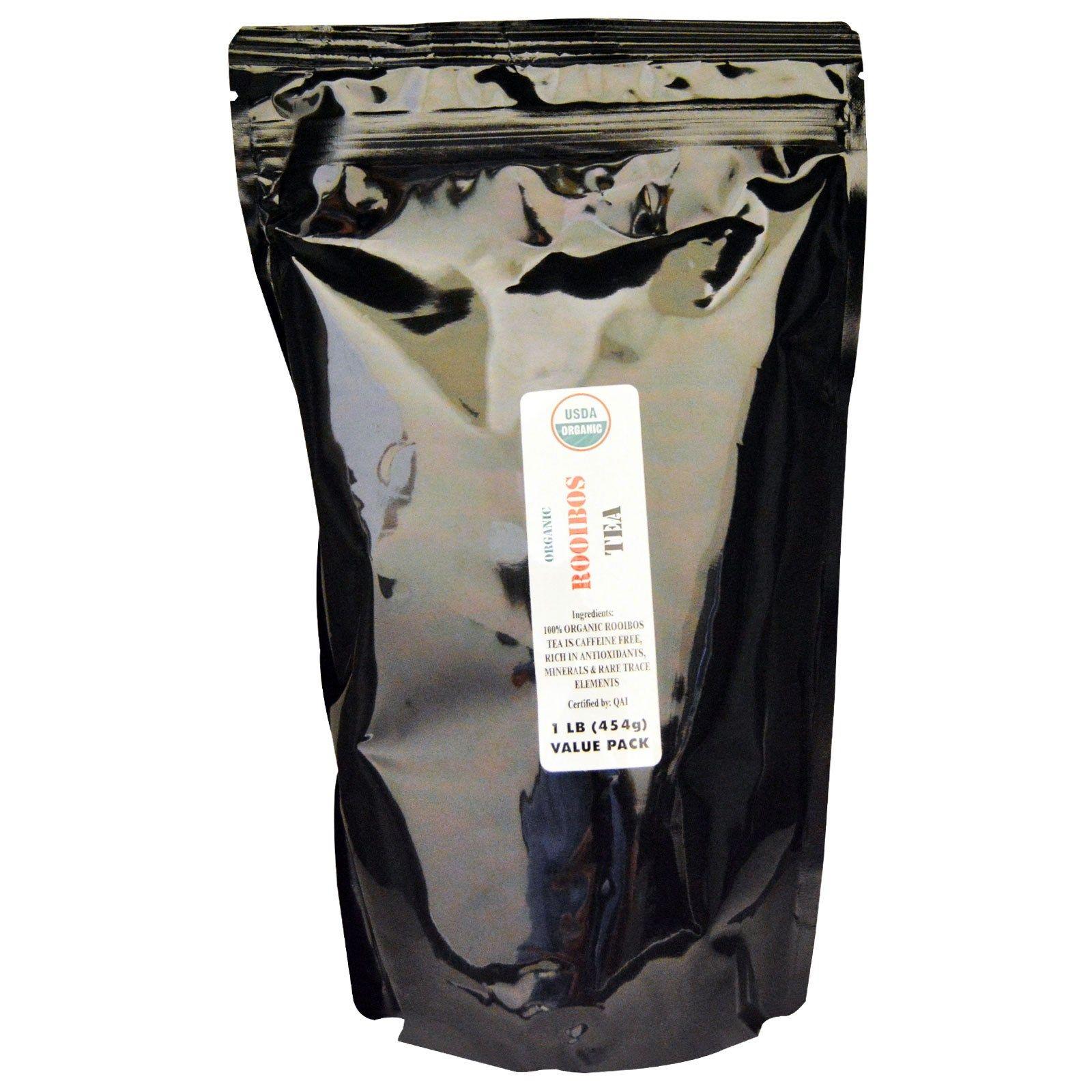 J&R Port Trading Co., Organic Rooibos Tea, Caffeine Free