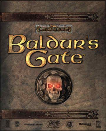 Baldur S Gate Computer Rpg Based On D D 2nd Edition In The