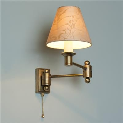 Hanson wall light with pull cord lamps and fixtures pinterest hanson wall light with pull cord mozeypictures Gallery