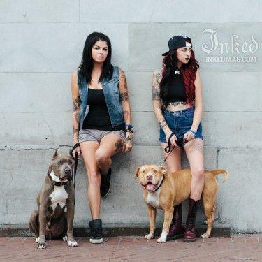 Mariah And Tania Torres From Pit Bulls And Parolees Pitbulls Animal Planet Pit Bulls Parolees