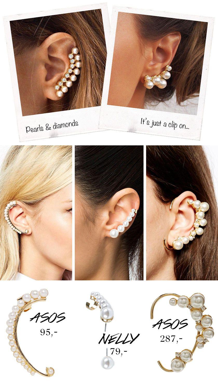 - Pearl Ear Cuffs -