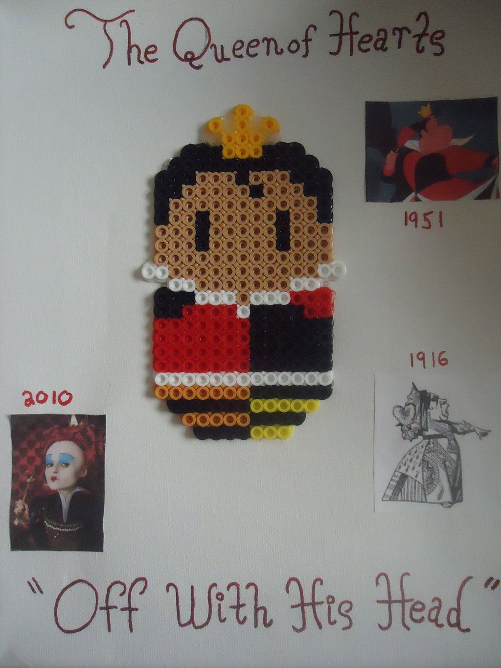 The Queen of Hearts by PerlerHime
