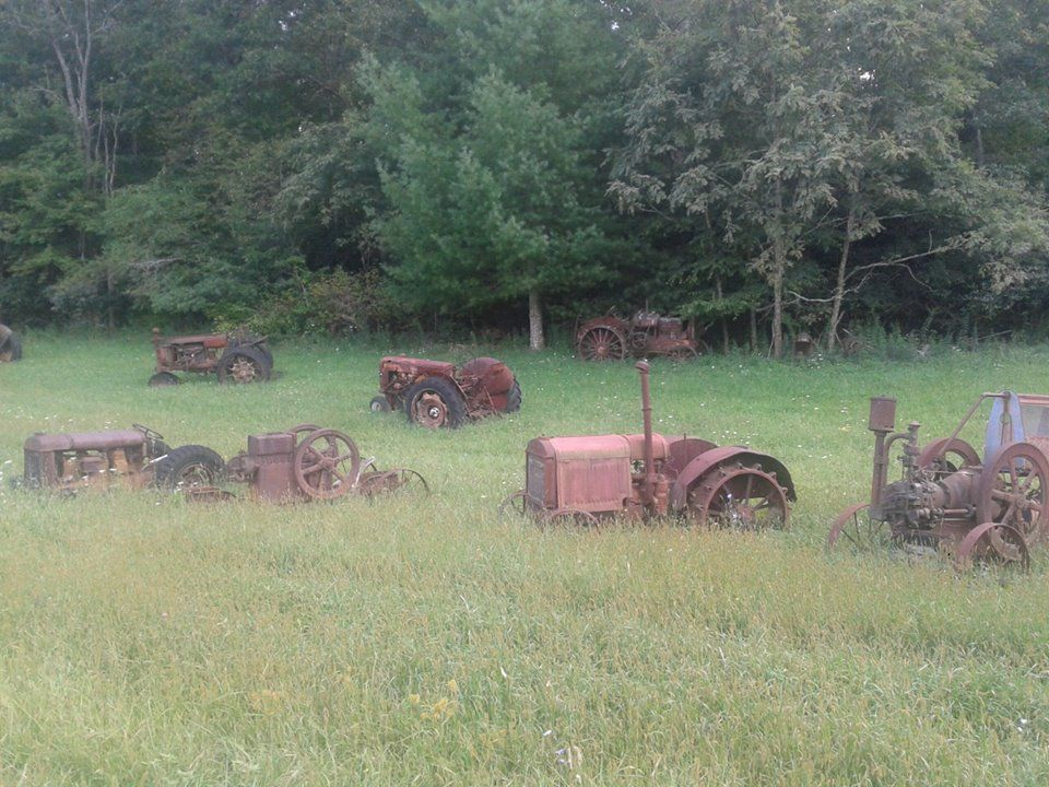 Tractor Graveyard Tractors Animals In This Moment