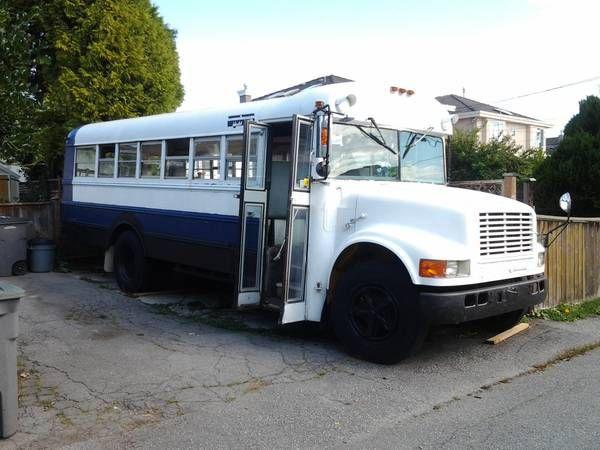School Bus Craigslist Vancouver Really Cheap School Buses