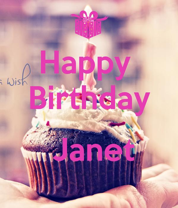 Happy Birthday Janet 8 Png 600 700 Family Birthdays Birthday