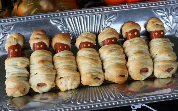 Mummy weenies Snack time Pinterest Snacks, Snacks ideas and Food - fun halloween food ideas