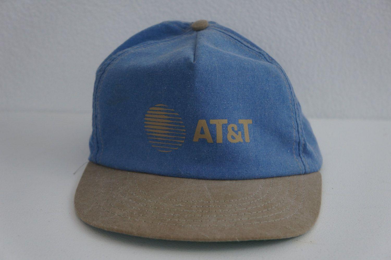 Vintage AT&T ATT Trucker Baseball Cap Hat Snapback Old